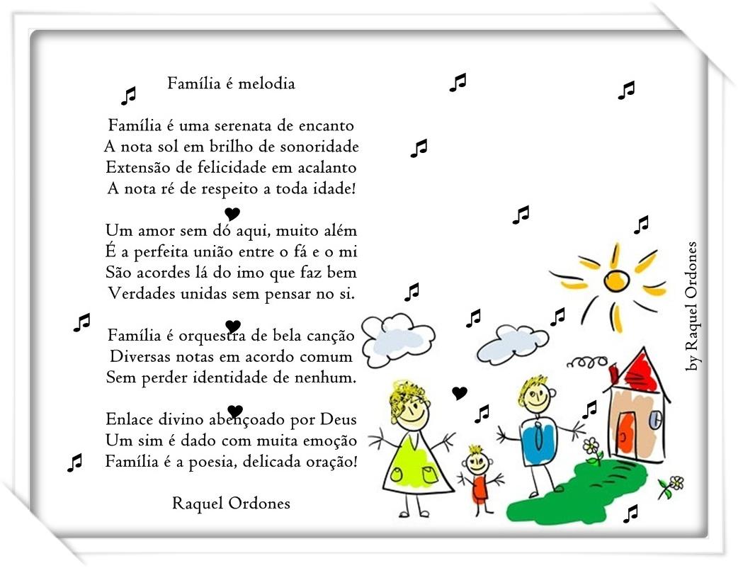O Que Rima Com Felicidade: .: Família é Melodia