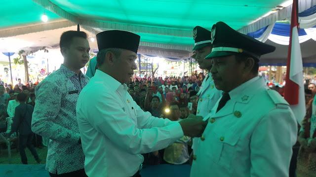 Iskandar SE Lantik 5 Kedes di 2 Kecamatan