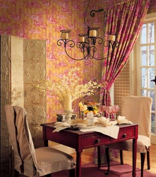 Feast Your Eyes Gorgeous Dining Room Decorating Ideas: Eye For Design: Decorating With The Pink/Yellow Color