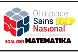 Kumpulan Soal Olimpiade MATEMATIKA SMP Tipe 1, 2, 4 & 4
