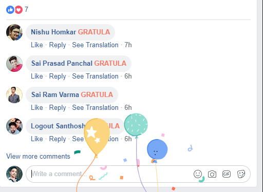 Facebook Hoax On Typing Gratula For Security Of FB Account