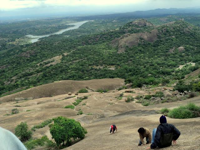 Savandurga-Hills-Bangalore
