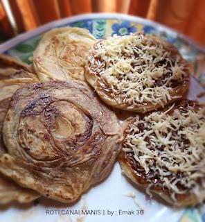 Tip Memasak Membuat Roti Canai Manis