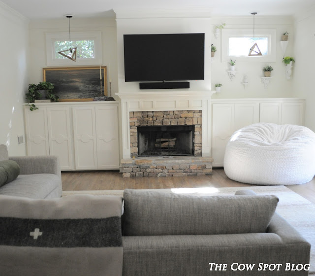 The cow spot for B q living room doors