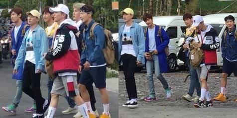 Potret Keseruan Super Junior & TVXQ Naik Jeep di Lava Tour Merapi