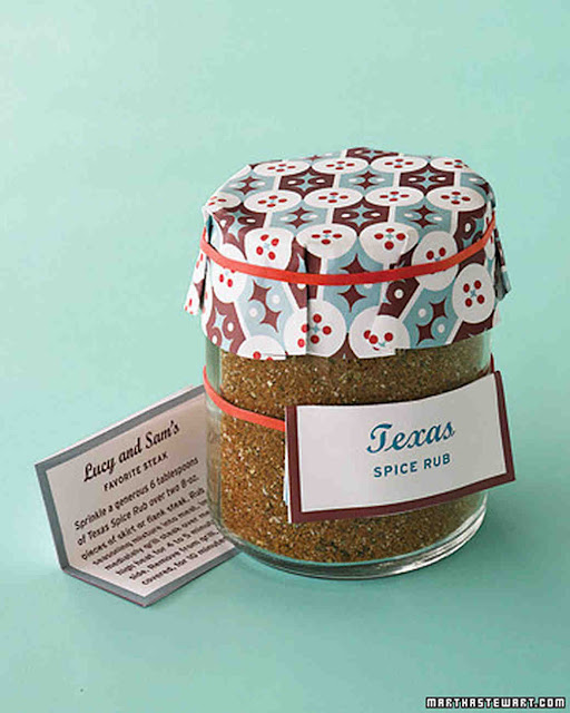 Texas spice rub favors