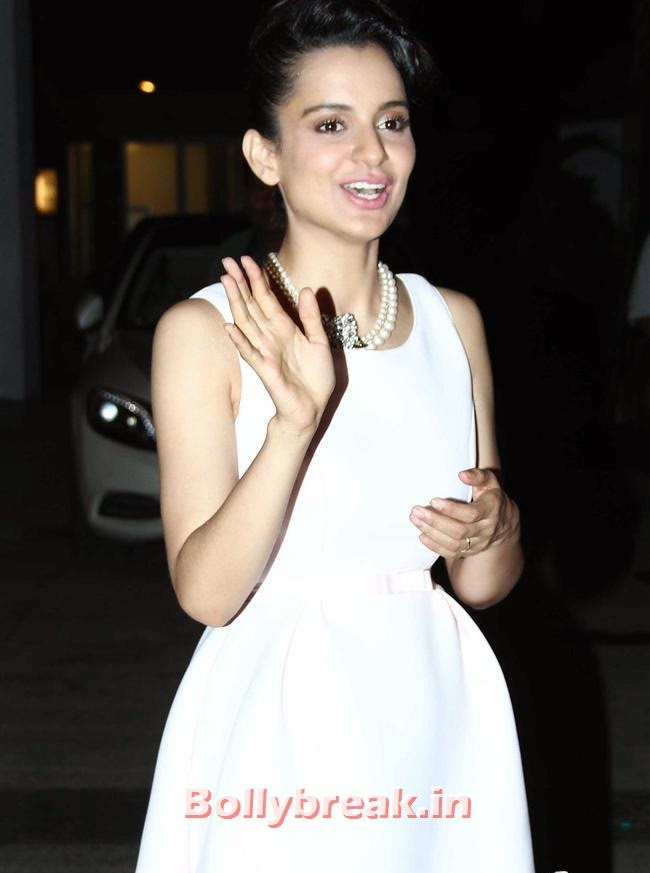 Kangana Ranaut, Bollywood Celebs at Kangana Ranaut Birthday Bash Pics