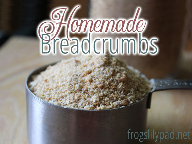 Don't throw away those end pieces of store bought bread! Make Homemade Breadcrumbs instead. The easiest, quickest, and most frugal way to make your breadcrumbs.#homemade #recipe #diy