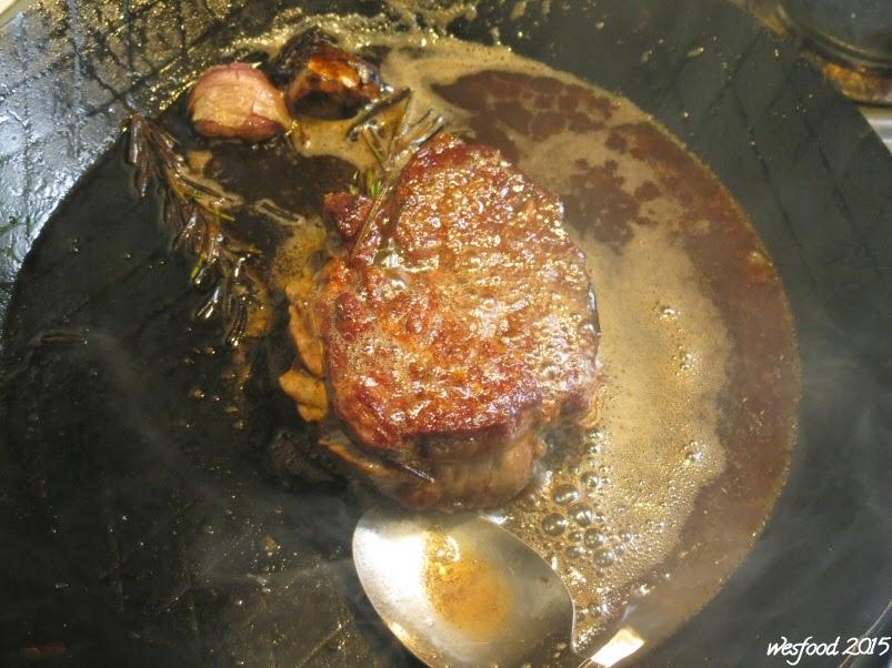 wesfood steak mit spargel salat und caf de paris butter. Black Bedroom Furniture Sets. Home Design Ideas