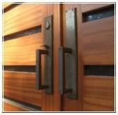 model handle pegangan gagang pintu kupu tarung minimalis