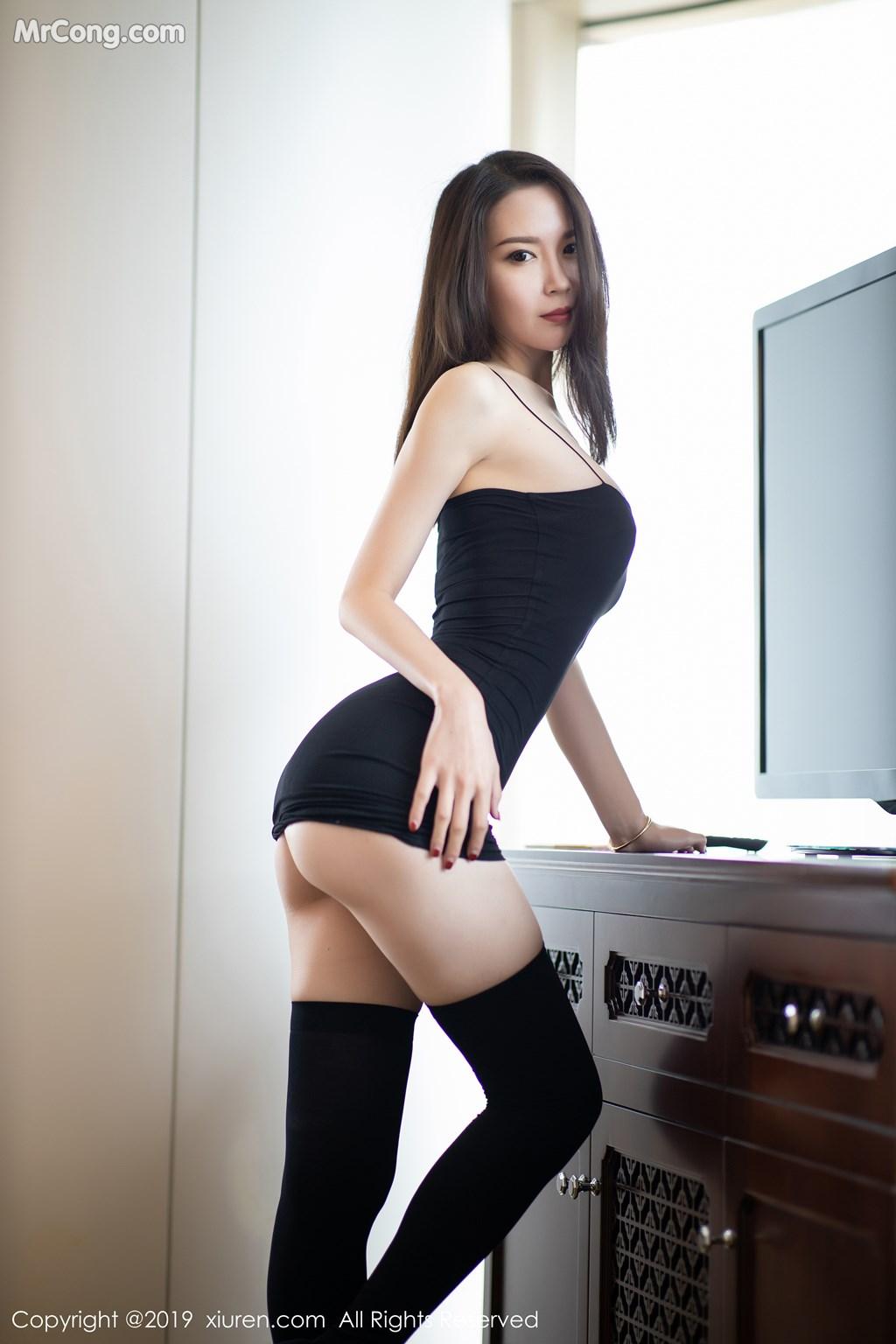 Image XIUREN-No.1720-Meng-Xin-Yue-MrCong.com-009 in post XIUREN No.1720: Meng Xin Yue (梦心月) (81 ảnh)
