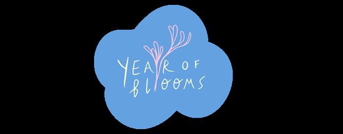 floral blog project logo banner