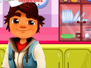 صب واي يطبخ الكيك - لعبة صب واي