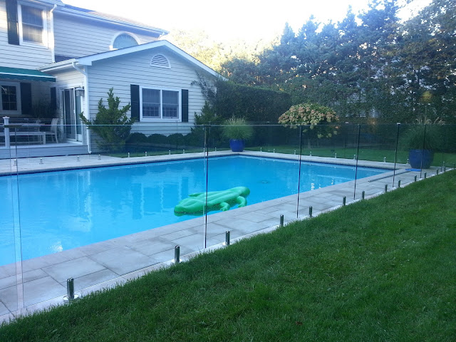 Glass Pool Fences in New York