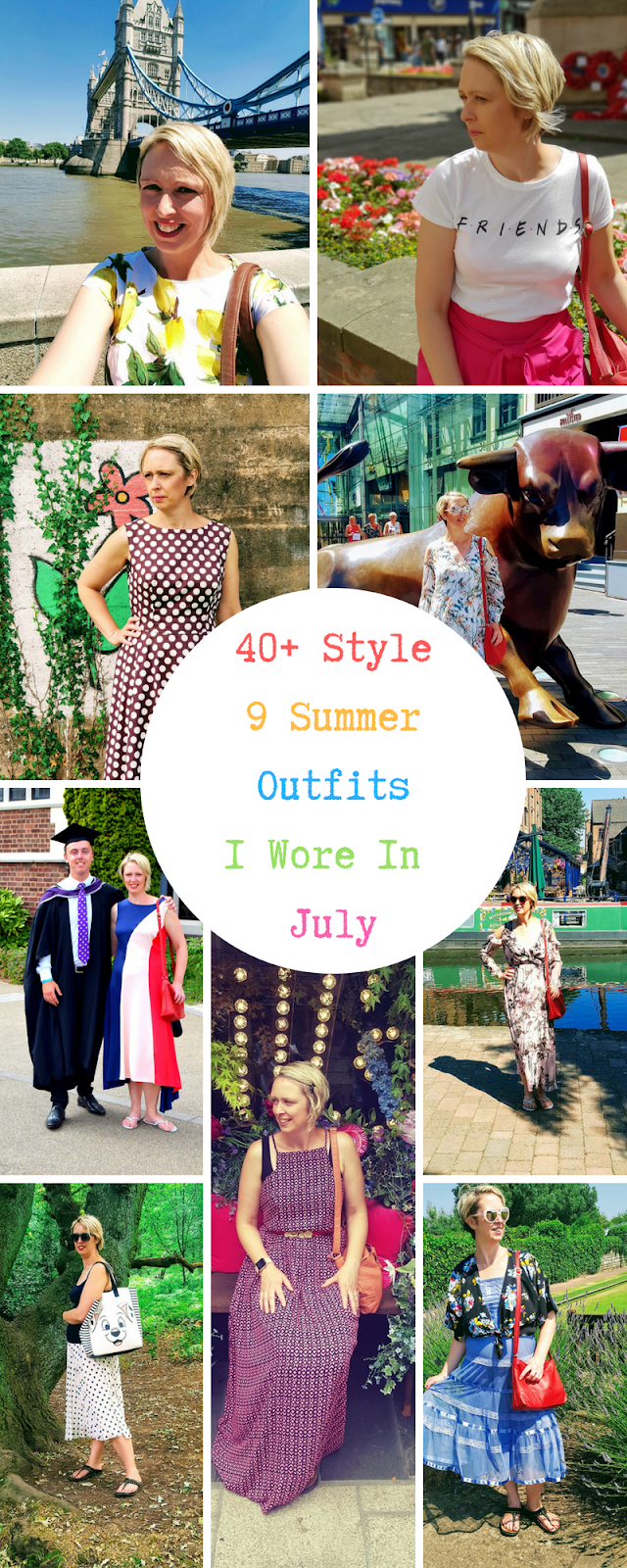 9 Summer Outfits I Wore In July