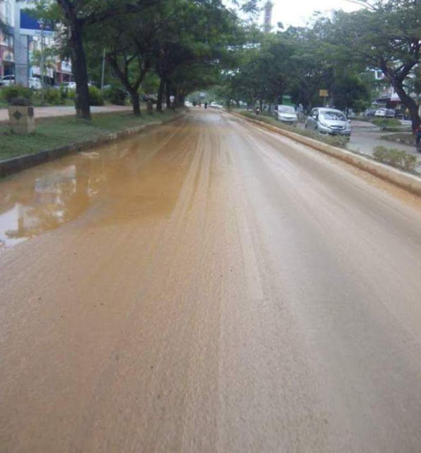 Uba Ingan ; Pemko Batam Tidak Bisa Tegas Silahkan Angkat Bendera (Aktivitas Armada Dump Truck Cut And Fill)