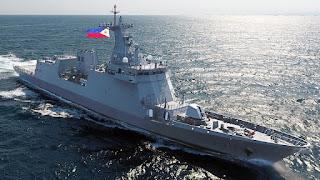Fregat BRP Jose Rizal AL Filipina