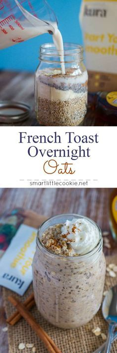 FRENCH TOAST OVERNIGHT OATS