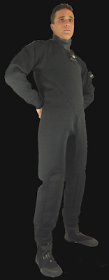 compressed neoprene drysuit