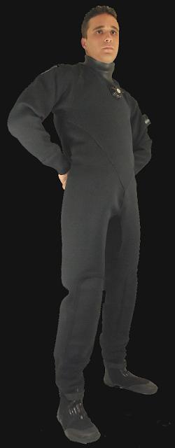 compressed neoprene drysuit