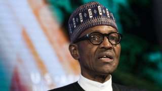 Nigeria's President Buhari warned by first lady