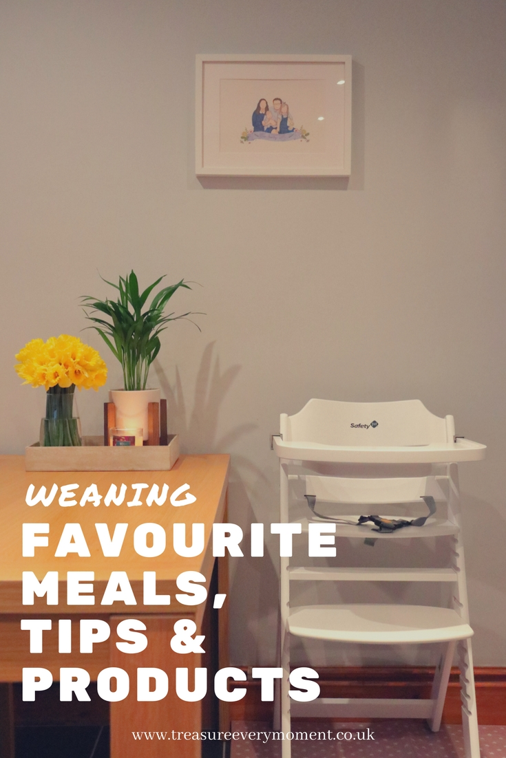 WEANING: Favourite Meals, Tips and Products