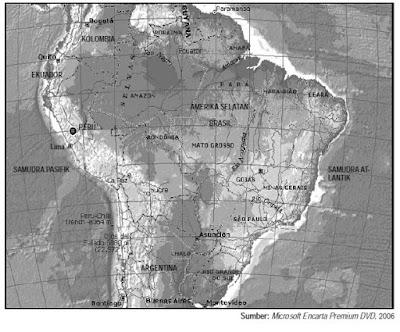 Letak Luas dan Keadaan Alam Negara Brazil
