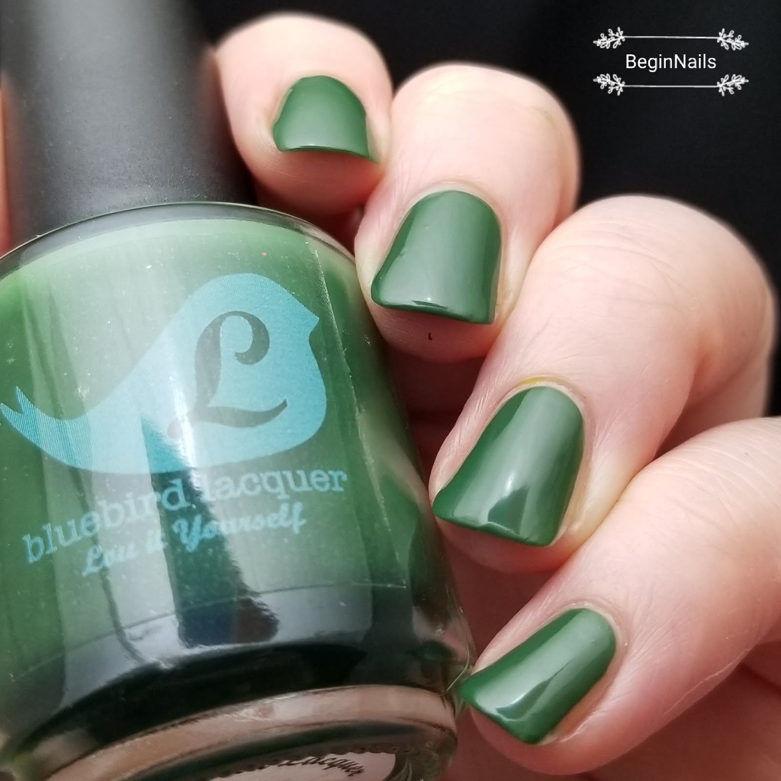 Let\'s Begin Nails: Bluebird Lacquer Fall Rainbroversity Collection