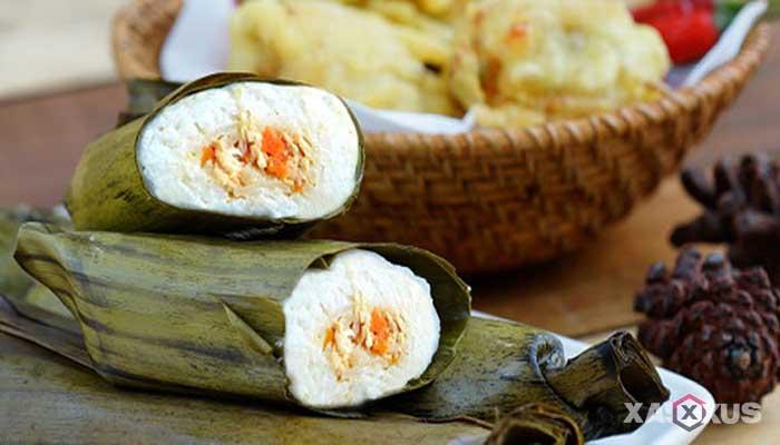 Resep cara membuat arem-arem isi kentang dan wortel