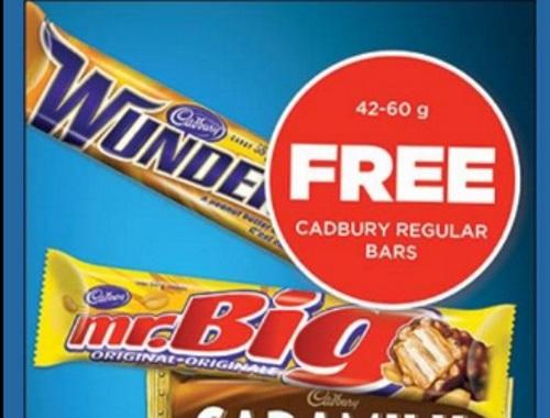 Mac's Convenience Store Free Cadbury Bar