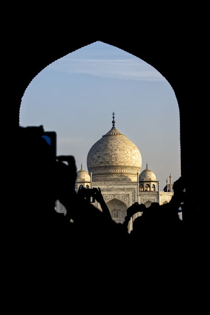 Golden Taj Mahal Wallpapers