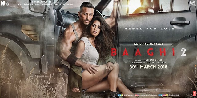 Baaghi 2 set to be Tiger Shroff's widest release worldwide