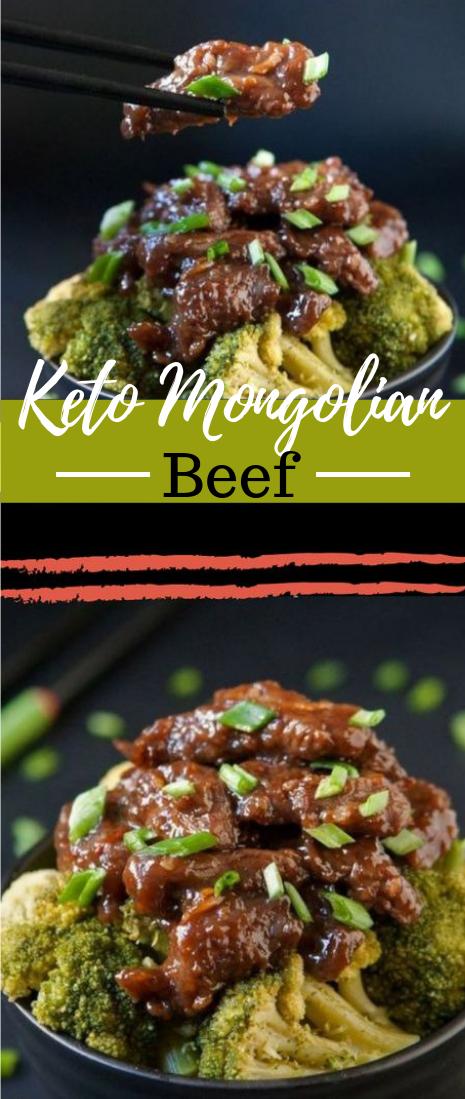 Keto Mongolian Beef #diet