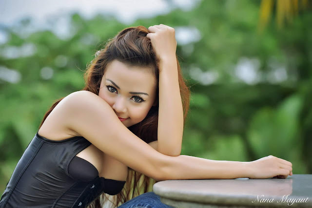 Model Imut Alena Asmara