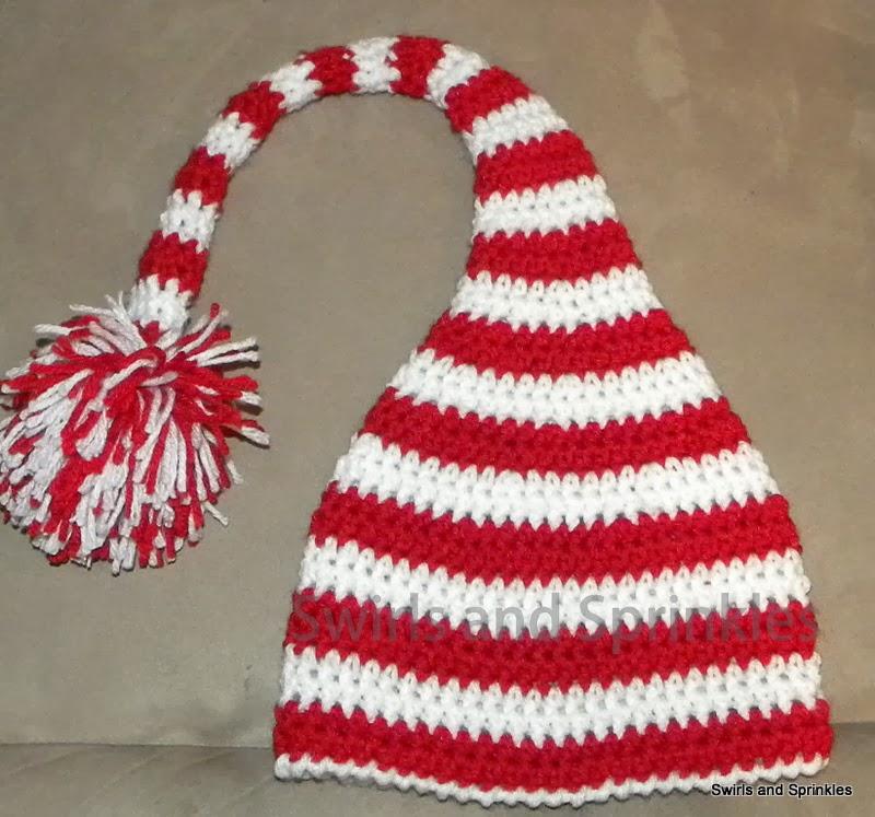 Swirls and Sprinkles  My Favorite Crochet Elf Hat Pattern a6dff37fe25