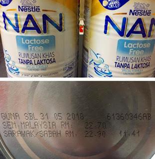 Susu Non Laktosa untuk Musang