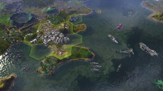 Sid Meier's Civilization Beyond Earth Rising Tide Photo