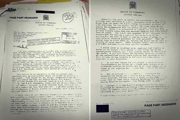 15 titkos UFO-aktát hozott nyilvánosságra a brit védelmi minisztérium