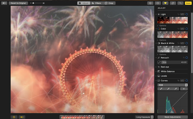 Create a long exposure shots and GIFs in Photos