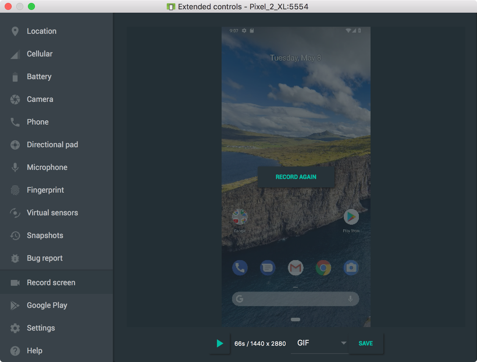 - screen recording - Android Developers Blog: Android Studio 3.2 Canary