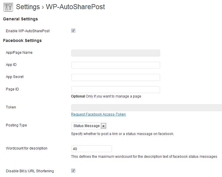 WP-AutoSharePost