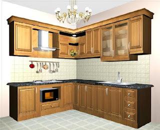 Tủ bếp gỗ sồi mỹ HP13 hiện đại