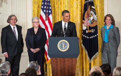 Barack Obama and Three Nominees