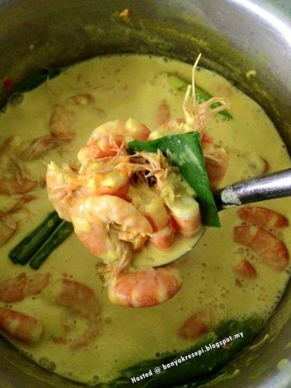 resepi udang masak lemak cili api sbs aneka resepi masakan Resepi Udang Galah Masak Stim Enak dan Mudah