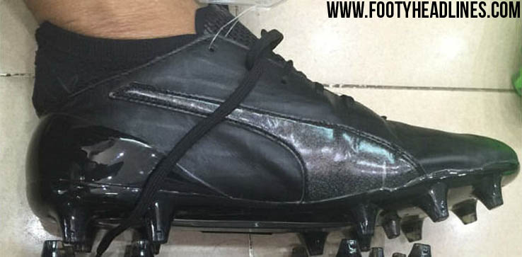 best cheap ebe0f 6bd88 Blackout Puma evoSPEED SL Leather 2016 Prototype Cleats