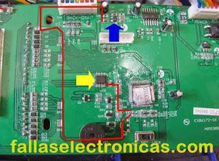 circuito electrónica de balanza