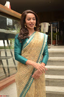 Tejaswi Madivada looks super cute in Saree at V care fund raising event COLORS ~  Exclusive 104.JPG