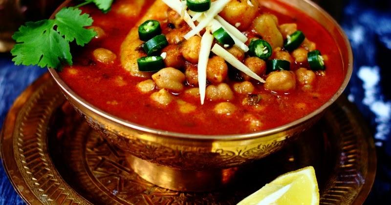 Kabuli Chana Masala Recipe