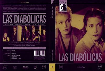 Carátula dvd: Las diabólicas (1955) Les diaboliques
