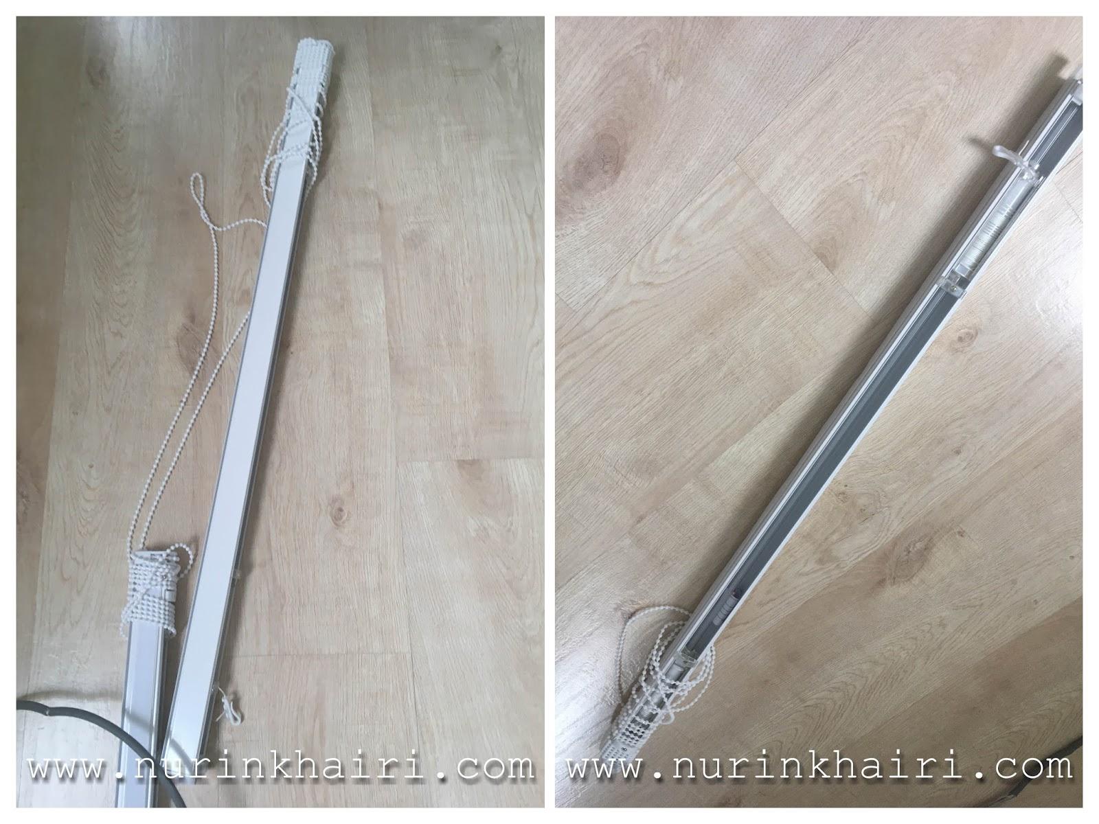 Ni Rupa Railing Track Untuk Roman Blind Harga Upah Jahit Yang Nurin Dapat Lebih Mahal Daripada Langsir Biasa Sebagai Panduan